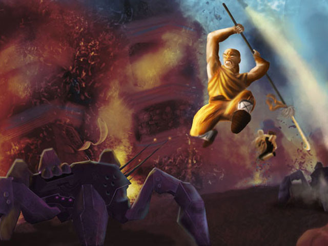 Shaolin fierce